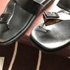 諦めきれない LOUISVUITTONのサンダル ~サンダルの補修 サンダルの鼻緒 靴底はがれ~