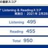第262回TOEICスコア速報(2021年2月28日)