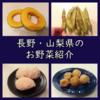 道の駅で発掘。初めて頂く長野&山梨県のお野菜・果物をレポート。