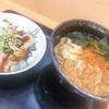 【グルメ】新宿で食べたたぬきそばとミニ穴子どんぶり♪