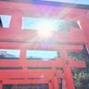 御礼参り(赤手拭稲荷神社、今宮戎神社)