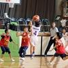 バスケ・ミニバス写真館24 一眼レフで撮影したバスケットボール試合の写真