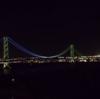 今日の1枚 ~夜の明石海峡大橋~