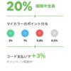 LINE Pay(ラインペイ)で20%還元実施中!ビックカメラも本日21日より対応!