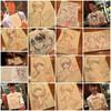 #362 「似顔絵美人300展」の自作パネルの原画とか日々のこと その1(「似顔絵美女300展」at萬翠荘 2017/01/31-2017/02/05 )