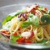 タコの冷製パスタ(カペッリーニ)のレシピ