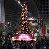 楽しいライトアップ♪京都駅ビルのイルミネーション