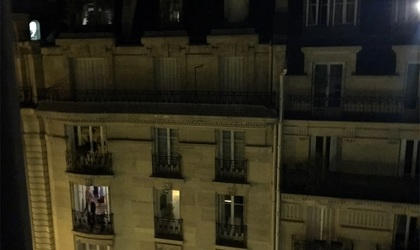 フランス人にひとこと言いたい(怒)-パリの騒音ひどい