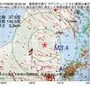 2017年08月26日 06時35分 福島県中通りでM3.4の地震