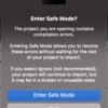 Unityでプロジェクト新規作成しただけなのに、Enter Safe Modeって何これ