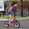 野々市つばきの郷公園で自転車練習
