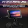 "Godox GM55 - 5.5""4K HDMI Touchscreen On-Camera Monitor"