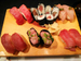 「ふらり寿司」の「マグロづくし」