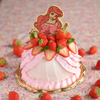 骨折してしまったアリエルのドールケーキ