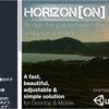 Horizon[ON] Terrainのエリア外をカバーして目視限界まで地形を拡張!