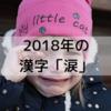 2018年の漢字は「涙」に決定!