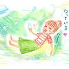 夏のゆる絵日記(1)トマト寒天