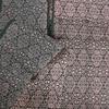 着物生地(281)菱に花模様羽織生地