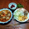 幸運な病のレシピ( 2309 )夜:煮しめ(トマト缶、玉こんにゃく、冬瓜、厚揚げ、鶏むね肉)