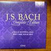 バッハ全集 全部聞いたらバッハ通 CD12 BWV1008、1010、1012 無伴奏チェロ