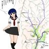 今日のお絵かき日記&粟ヶ岳、駒出川上流