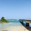 沖縄の海沿いをドライブ。(沖縄旅行⑥)