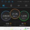 熊本城マラソン前の20㎞走