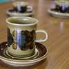 アラビア(ARABIA) オツソ(Otso) コーヒーカップ&ソーサー