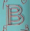 初心者でも簡単に作れる!アルファベットシリーズ(B)