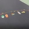 【名古屋帯】小さなお正月飾りがかわいい!塩瀬の名古屋帯