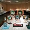 ステンドグラス教室の展覧会 藤沢ルミネ市民ギャラリーで10月7日までです。