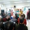 1月20日、弥生台グリーンハイムA地区新年会と、岸根公園自治会新年会で演奏しました
