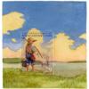 【画像】切手の外側という未知の世界を描いたモリー・ラウシュの切手絵画15枚