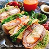 【レシピ動画】アボカドチーズパンの味噌カツハムぱくサンド