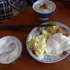 幸運な病のレシピ( 1111 )朝 :鳥・ハタハタ唐揚げ、味噌汁