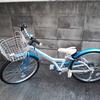 あさひ自転車で126cmの娘が24インチの自転車を購入!