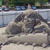 あさひ砂の彫刻美術展2017