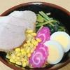 もう18時過ぎて今頃昼ごはん、今日は「煮豚しょうゆラーメン」