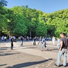 【フリーダムな生き様】東京代々木公園でローラー族を目撃した!