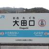シリーズ土佐の駅(114)大田口駅(JR土讃線)