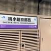 開業したばかりの梅小路京都西駅の需要を調査【平成最後の18切符 #10 京都⇄梅小路京都西】