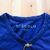 【最近買った服】 BEAMS別注 CIRCOLO1901 インディゴ ヘンリーネックロングTシャツ!!