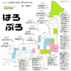 ハロプロメンバーの出身都道府県の図(娘。13期加入版)