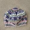 フェアアイルの帽子編めました