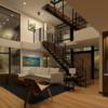 家の間取り リビング階段 リビングの中に階段とは?考え方。