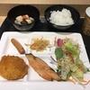 新潟県 スーパーホテル新潟の無料朝食バイキングで、新潟名物タレカツを味わう