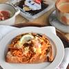 人参サラダと卵と昆布のオープンサンドで温活朝ごパン