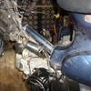 プレスカブ5号機(FI) エンジン載せ替え