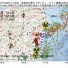 2017年10月05日 11時42分 福島県中通りでM3.1の地震