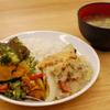 鮭と白菜の豆乳グラタン